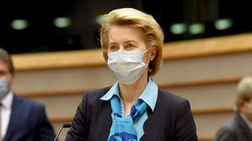 Ursula von der Leyen said the money would be disbursed via grants and loan