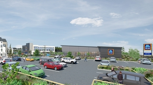 An artist's impression of the new Aldi store planned for Clonakilty