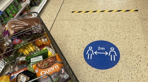 Tesco said its Irish like for like sales jumped by 20.5% to £697m in its first quarter to May 30