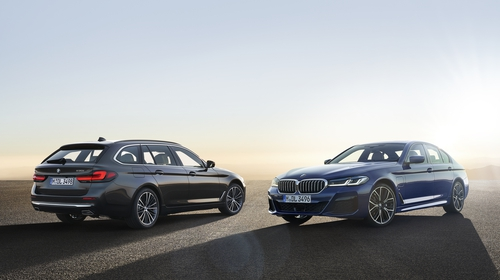 Both the saloon and Touring estate version have been re-freshed.