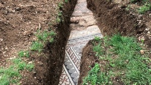The team managed to find parts ofthe ancient Roman Villa that was discovered more than a century ago (Picture courtesy of Comune di Negrar di Valpolicella)