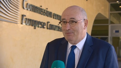 "Phil Hogan said last week he was ""exploring the option"" of seeking to become director-general of the WTO"