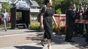 Meng Wanzhou leaves her home for her Vancouver court appearance
