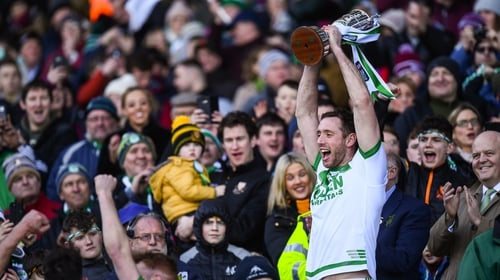 Michael Fennelly has captained Ballyhale Shamrocks to successive All-Ireland club titles