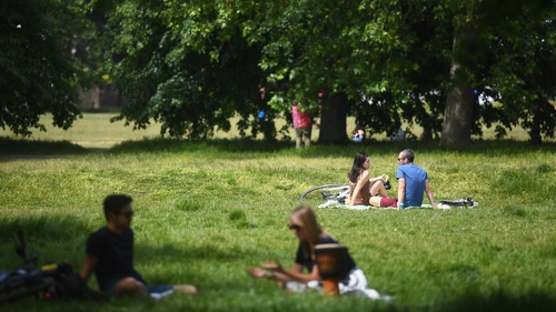 Up to six people will be allowed to meet outside from Monday in England while observing social distancing