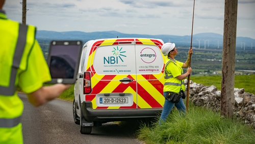 Contract to survey and design the NBP network was awarded to entegro