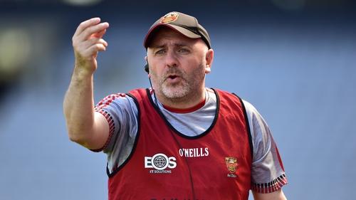 Down hurling manager Ronan Sheehan
