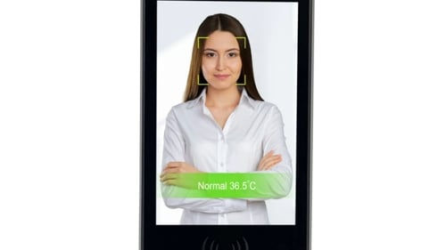 Fever Defence is a standalone device that uses a thermal imaging camera and facial detection camera to test a person's temperature