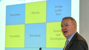 O'Shea was the keynote speaker at a recent coaching webinar arranged by Dr Peter Horgan, Education Officer at the GAA