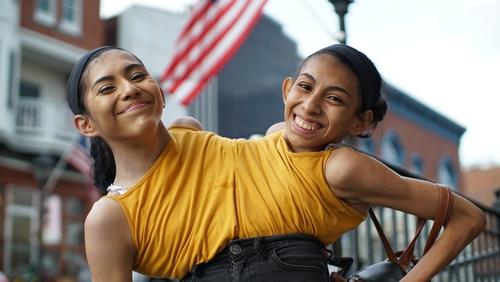 Carmen and Lupita Andrade