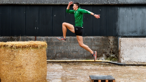 Long jumper Shane Howard remains focused at home on family farm