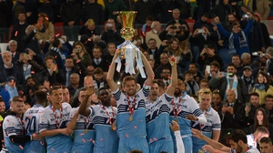 Lazio won last season's Coppa Italia