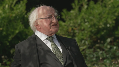 President Michael D Higgins said we must reflect on 'systemic weaknesses'