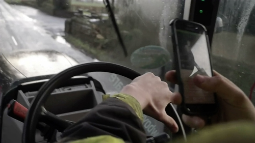 There was widespread criticism this week of many videos posted to TikTok showing young people in Ireland using farm machinery dangerously