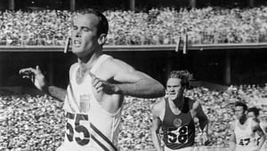 Morrow was named Sports Illustrated's 'Sportsman of the Year' in 1956