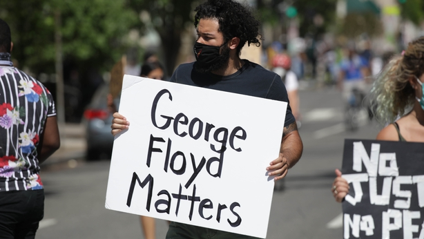 U.S.  race protests spread to dozens of cities — George Floyd killing