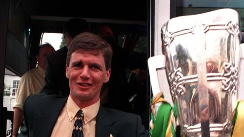 Hubert Rigney with Liam MacCarthy