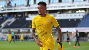 Jadon Sancho unveiled a 'Justice for George Floyd' T-shirt