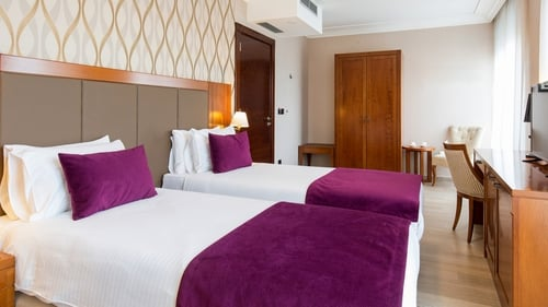 Hoteliers are predicting the average room rate of €111 in 2019 is set to fall to €94 for 2020 due to the impact of Covid-19