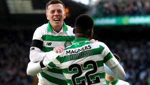 Odsonne Edouard (R) and Callum McGregor could be celebrating again soon