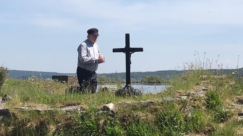 Father La Flynn will remain on Lough Derg until 15 August