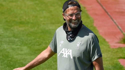Klopp welcomes 'massive' Liverpool training boost