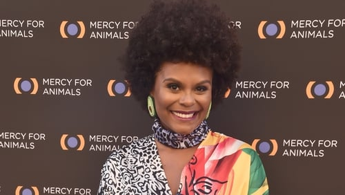 Tabitha Brown attends the Mercy For Animals 20th Anniversary Gala at The Shrine Auditorium on September 14, 2019 in Los Angeles, California. (Photo by Alberto E. Rodriguez/Getty Images)
