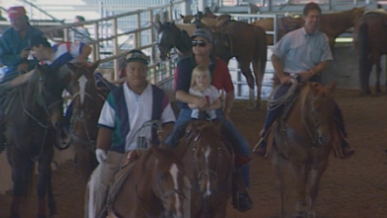 Sunday rodeo, southern Texas (1995)