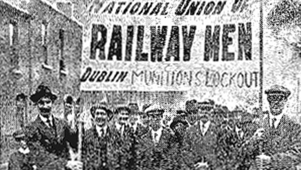 Striking Railway Workers