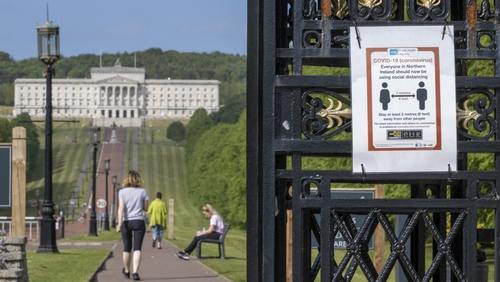 It was the first such contact since devolved government was restored at Stormont