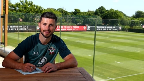 Shane Long is staying with Southampton