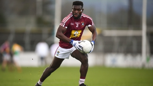 Boidu Sayeh in action for Westmeath