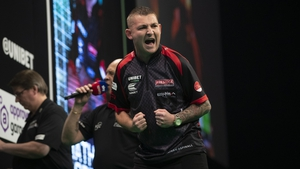 Nathan Aspinall is through to the last four
