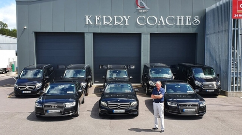 Mike Buckley's fleet of Mercedes, Audi and other high-end vehicles are locked up and not in use