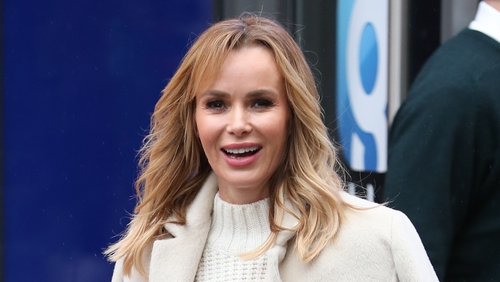 """Amanda Holden - """"When I left drama school, EastEnders was one of the first jobs I got"""""""