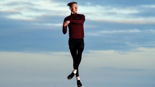 Irish figure skater Conor Stakelum