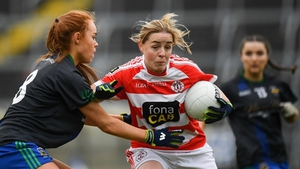 Emma Kelly in action for Naomh Pól during the 2019 All-Ireland Ladies Intermediate Club final