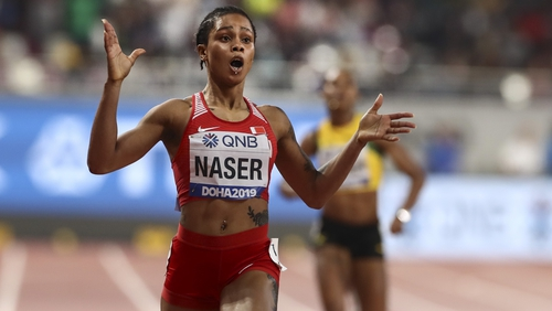 Salwa Eid Naser has been handed a provisional suspension