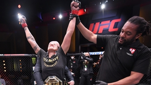 Nunes celebrates victory