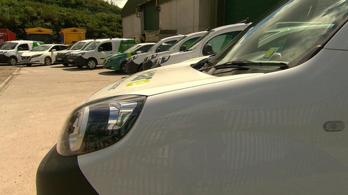 Cork City Council has now leased a new fleet of electric vehicles