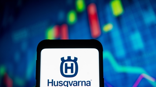Husqvarna said market demand was improving along with easing pandemic restrictions in many markets