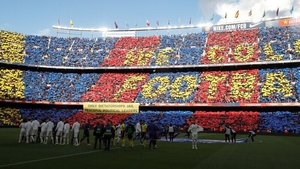 There will be no fans in the stands of Camp Nou as Barcelona resume their title chase