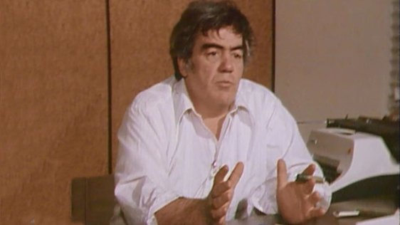 Journalist Jimmy Breslin