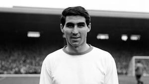 Tony Dunne played 535 times for Manchester United