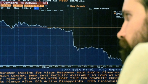 A second wave of Covid-19 infections has hit European shares