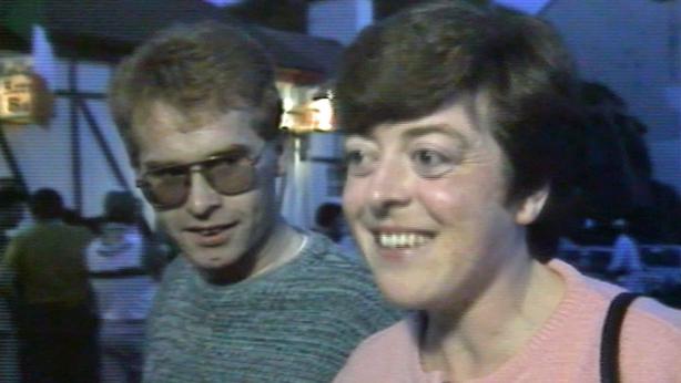 Cathy Bonner in Burtonport (1990)