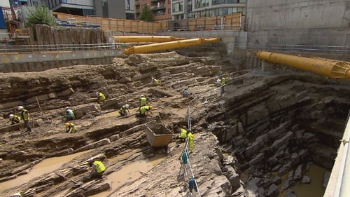 The dig at Ship St is the deepest site ever excavated in Dublin