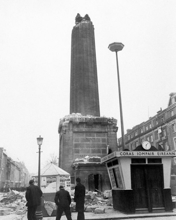Remains of Nelson's Pillar