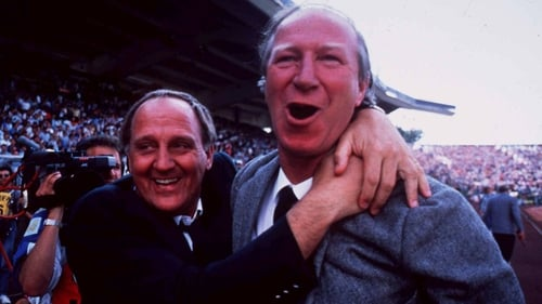 Ole! Maurice Setters and Jack Charlton