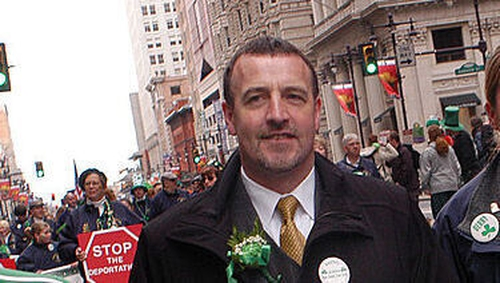 Malachy McAllister has lived in New Jersey for more than 20years
